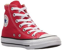 Converse Unisex Chuck Taylor All Star Hi Top Sneakers Red, U