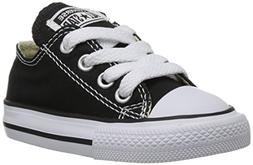 Converse Chuck Taylor All Star Lo Canvas Sneaker,Black,size