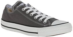 Converse Mens Chuck Taylor All Star Low Top Sneaker Charcoal
