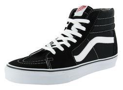 Vans Classic SK8 Hi Tops Black White Mens Skateboard Tennis