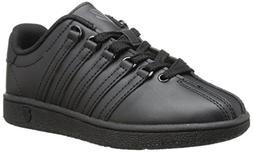 K-Swiss Classic Vintage PS Tennis Shoe ,Black/Black,2.5 M US