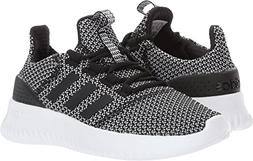 adidas Kids' Cloudfoam Ultimate Sneaker, Black/Black/Metalli