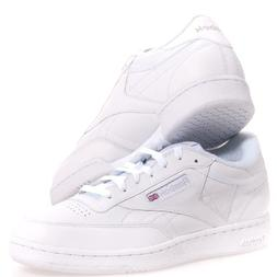 Reebok Men's Club C XW Classic Wide 4E White/Sheer Grey Casu