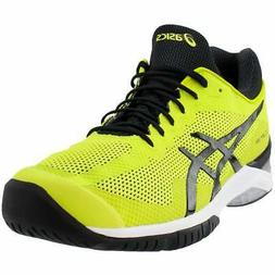 ASICS Court FF  Athletic Tennis Court Shoes - Yellow - Mens