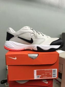 Nike Court Lite 2 Tennis Shoes Mens Size 7.5 Tan Light Bone