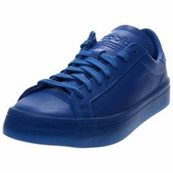 adidas CourtVantage Adicolor Tennis Shoes - Blue - Mens