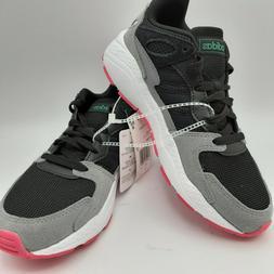 Adidas Crazy Chaos Black Gray Pink Cloudfoam Tennis Shoes wo