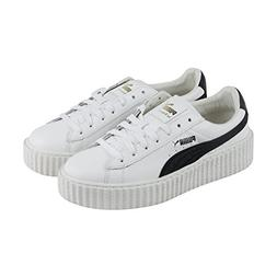 PUMA Women's Creeper Puma White/Puma Black 9 B US