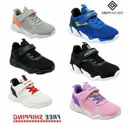 DREAM PAIR Kids Girls Boys Sneakers Sport Athletic Casual Wa