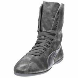 Puma Eskiva High Metallic  - Silver - Womens