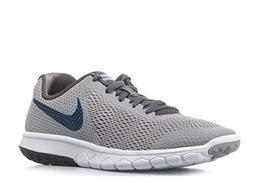NIKE Boy's Flex Experience 5  Running Shoes-Wolf Grey/Gym Bl