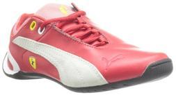 PUMA Future Cat M2 Ferrari Junior Tennis Shoe ,Rossa Corsa,4