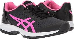 ASICS Womens Gel-Court Speed Sneaker, Black/Hot Pink/White,