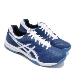 Asics Gel-Dedicate 6 Blue White Mens Tennis Shoes 1041A074-4