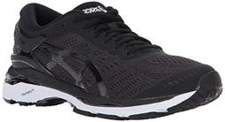ASICS Womens Gel-Kayano 24 Running Shoe, Black/Phantom/White