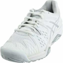 ASICS GEL-Resolution 6  Casual Tennis Stability Shoes - Whit