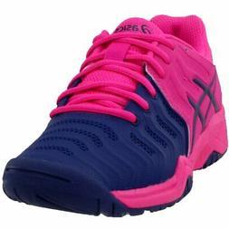 ASICS Gel-Resolution 7 GS Tennis Shoes - Pink - Boys