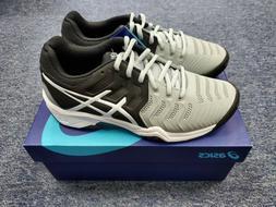 ASICS Kids Boy's Gel-Resolution¿ 7 GS Tennis  Mid Grey/Blac