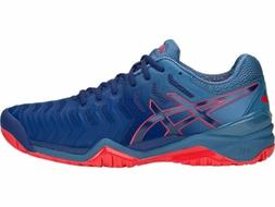 Asics Gel Resolution 7 men tennis shoes Blue/Blue E701Y.400