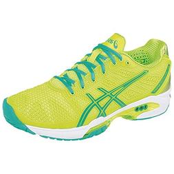 ASICS Women's Gel-Solution Speed 2 Tennis Shoe,Flash Yellow/