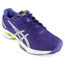 Asics Gel-Solution Speed 2 Women US 11.5 Purple Running Shoe