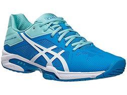 ASICS Women's Gel-Solution Speed 3 Tennis Shoe, Aqua Splash/