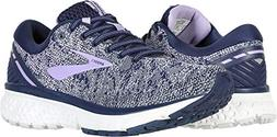 Brooks Women's Ghost 11 Navy/Grey/Purple Rose 7 B US