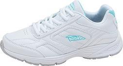 Avia Women's Avi-Ginger Walking Shoe,White/Cool Mist Grey/Ar