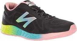 New Balance Girls Arishi Black Pink Blue Athletic Tennis Sho