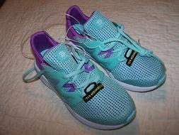 Girls~Size 5~Teal/Purple Trim~Tennis/Athletic shoes~Lightwei