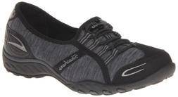 Skechers Sport Women's Good Life Fashion Sneaker, Black/Char