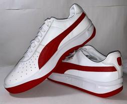 PUMA GV Special White Ribbon Red Men's Size 10.5 Casual Leat