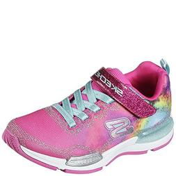 Skechers Kids Girl's Jumptech 81514L  Neon Pink/Multi 1.5 M