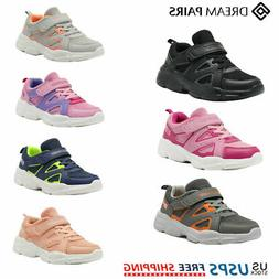 DREAM PAIRS Kids Sneakers Boys Girls Mesh Sporty Tennis Shoe