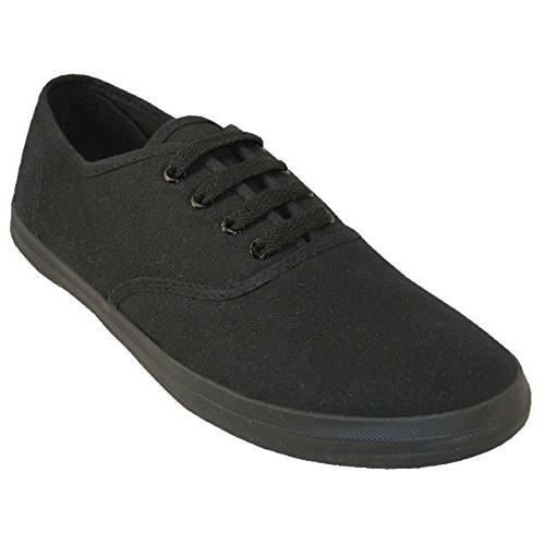 18 canvas lace sneakers