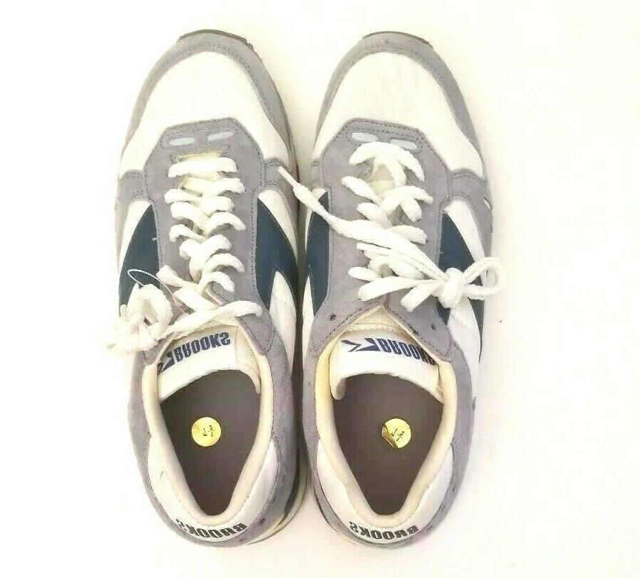 Brooks 7 Tennis Shoes Men's Blue Grey Vintage
