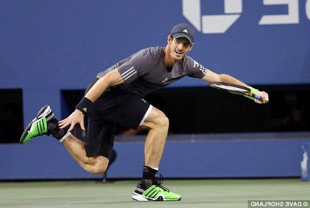 Adidas Barricade Tennis shoes Andy Murray NY Open