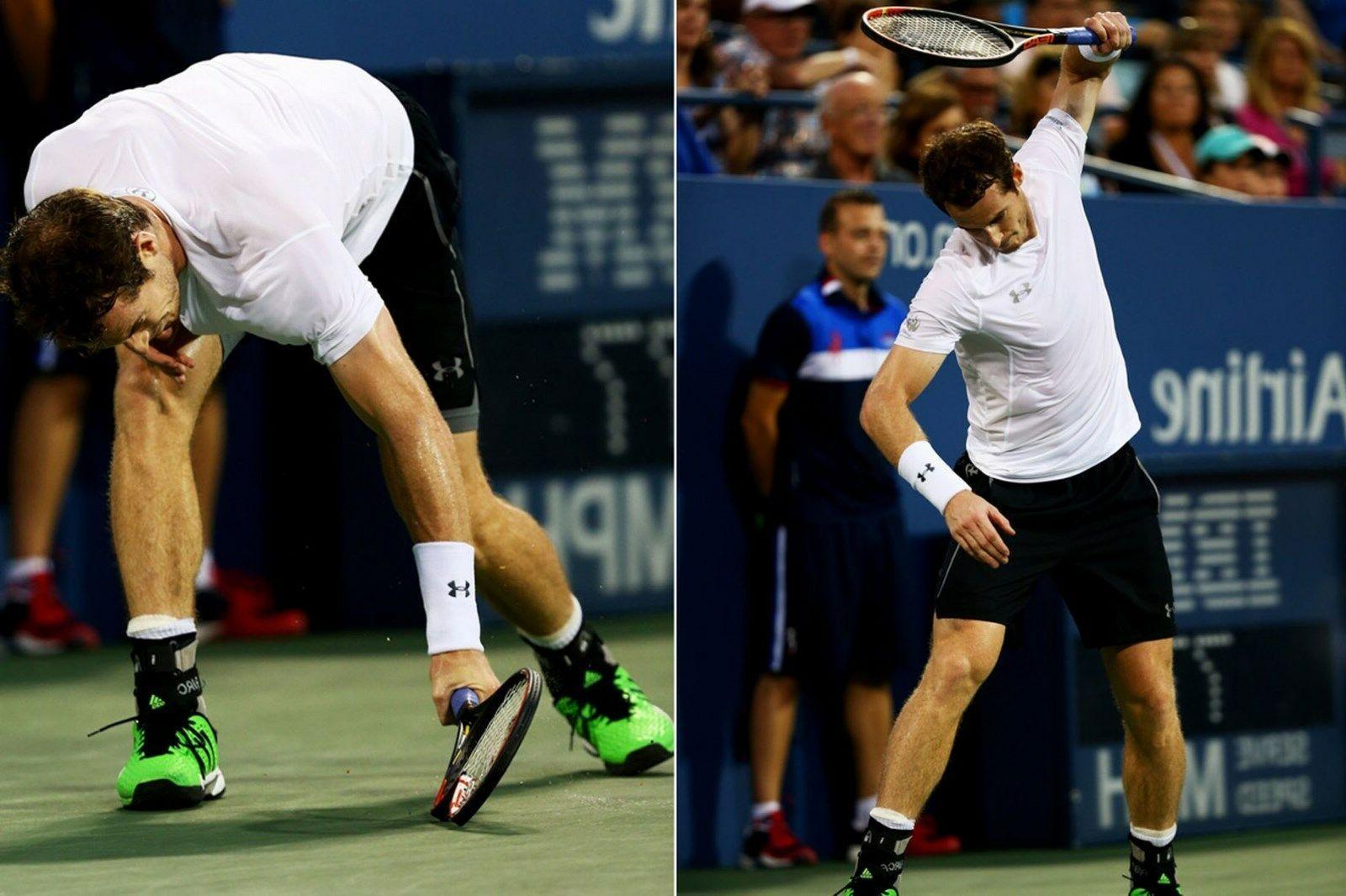 Adidas Adipower Barricade Tennis shoes Andy Murray Open