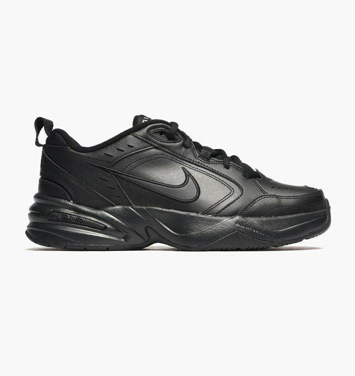 Nike Black Black Leather Men's New 415445 001