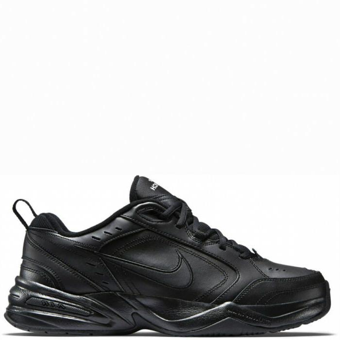 air monarch iv black black leather