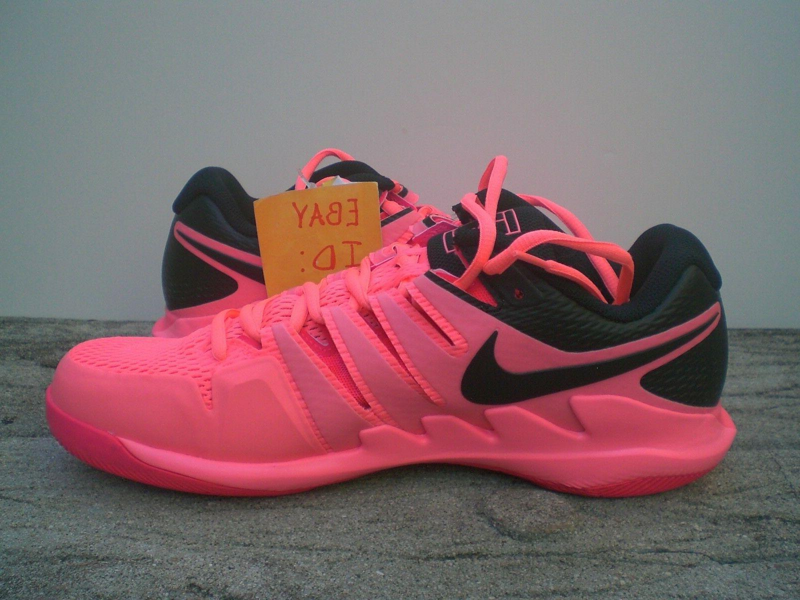 Nike Zoom X Men's Lava Tennis - SZ 10