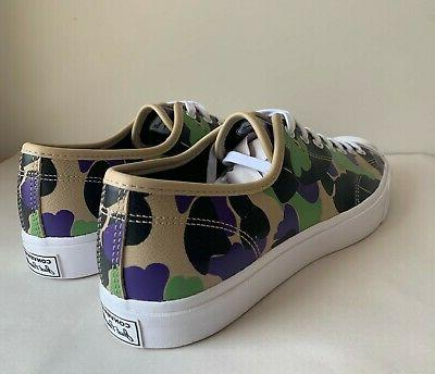 Converse Jack Purcell Leather Print OX Low sz