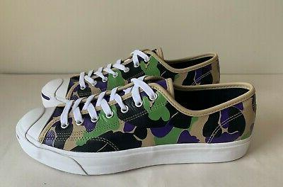 Leather Camo OX Low Sneakers sz