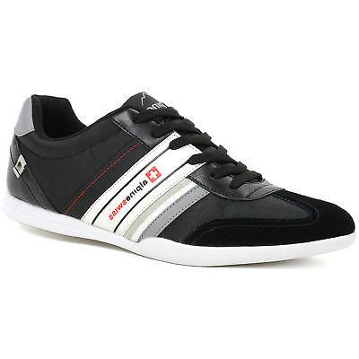 AlpineSwiss Ivan Mens Tennis Shoes Fashion Sneakers Retro Cl