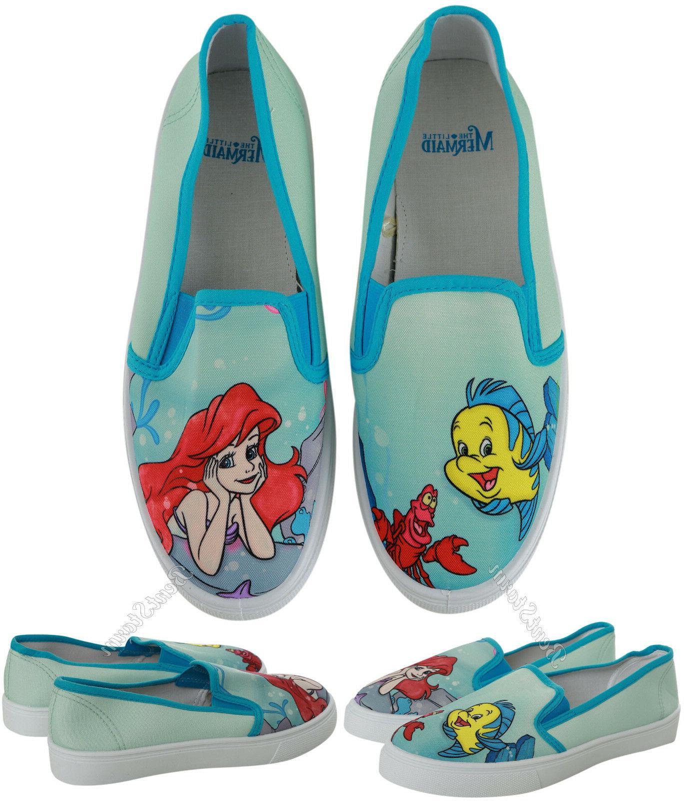 ariel flounder sebastian the little mermaid womens