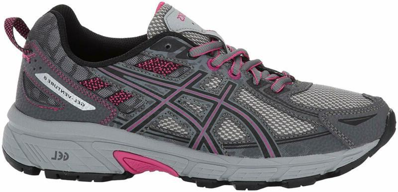 ASICS Running-Shoes,Carbon/Black/Pink
