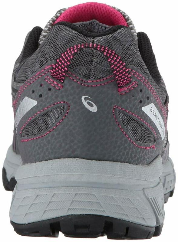 ASICS Women's Running-Shoes,Carbon/Black/Pink