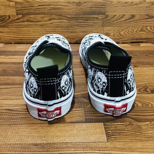 Vans Elastic Skulls Athletic Shoe