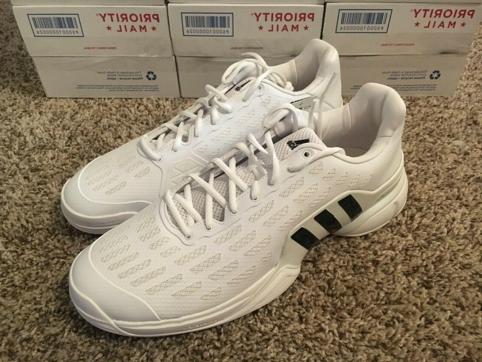 Adidas Barricade 2016 AF6790 Tennis Size 14 White