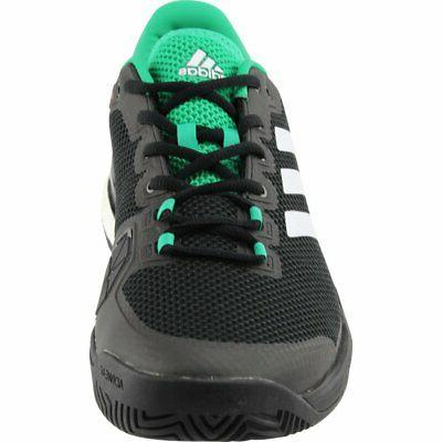adidas Barricade Tennis Shoes Black - Mens D